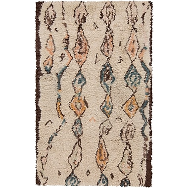 Surya Denali DEN5002-23 Hand Knotted Rug, 2' x 3' Rectangle