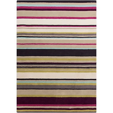 Surya Harlequin HQL8025-58 Hand Tufted Rug, 5' x 8' Rectangle