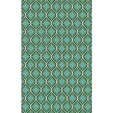 Surya Houseman HSM4069-58 Hand Crafted Rug, 5' x 8' Rectangle