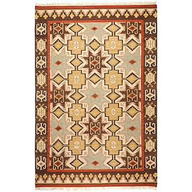 Surya Jewel Tone II JTII2034-58 Hand Woven Rug, 5' x 8' Rectangle