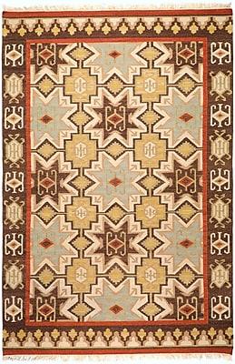 Surya Jewel Tone II JTII2034-58 Hand Woven Rug, 5' x 8' Rectangle