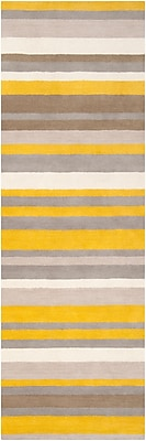 Surya Angelo Home Madison Square MDS1008-268 Hand Loomed Rug, 2'6