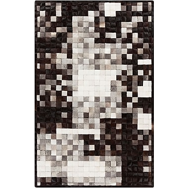 Surya Papilio Paint PNT1000-46 Hand Crafted Rug, 4' x 6' Rectangle
