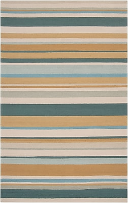 Surya Rain RAI1089-810 Hand Hooked Rug, 8' x 10' Rectangle