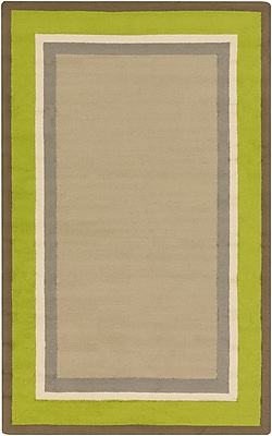 Surya Rain RAI1165-35 Hand Hooked Rug, 3' x 5' Rectangle