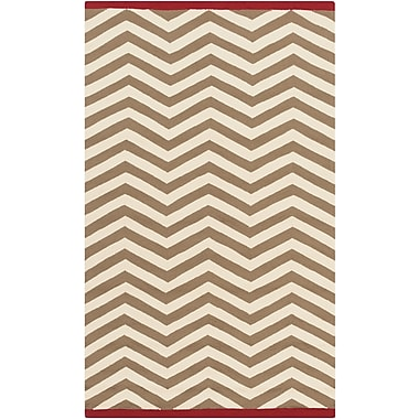 Surya Rain RAI1178-912 Hand Hooked Rug, 9' x 12' Rectangle