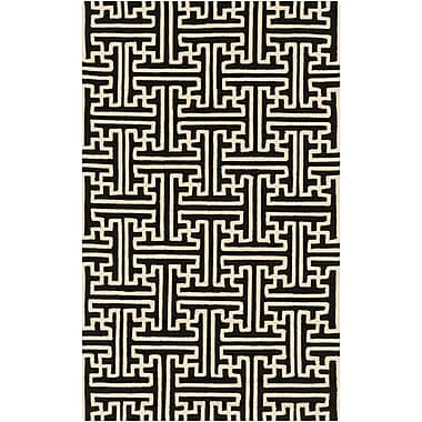 Surya Rain RAI1188-35 Hand Hooked Rug, 3' x 5' Rectangle