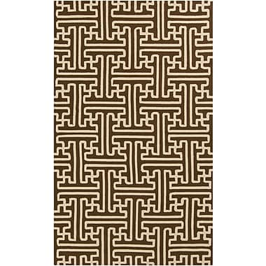 Surya Rain RAI1190-810 Hand Hooked Rug, 8' x 10' Rectangle
