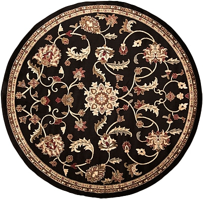 Surya Riley RLY5025-8RD Machine Made Rug, 8' Round