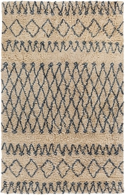 Surya Tasman TAS4507-58 Hand Woven Rug, 5' x 8' Rectangle