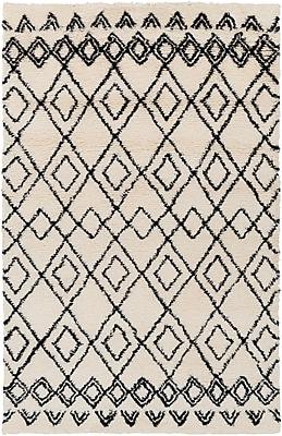 Surya Tasman TAS4510-58 Hand Woven Rug, 5' x 8' Rectangle
