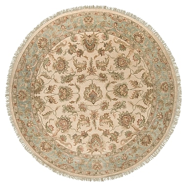 Surya Timeless TIM7913-8RD Hand Knotted Rug, 8' Round