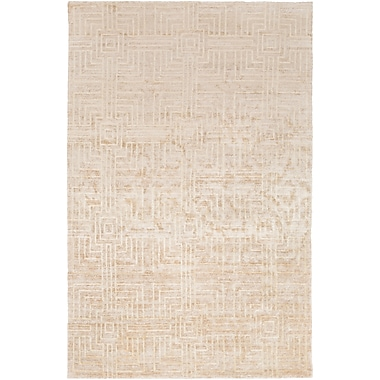 Surya Vanderbilt VAN1002-58 Hand Knotted Rug, 5' x 8' Rectangle