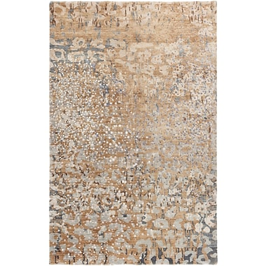 Surya Watercolor WAT5013-58 Hand Knotted Rug, 5' x 8' Rectangle