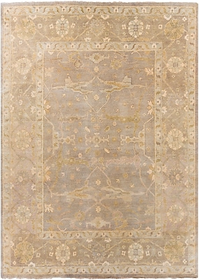 Surya Ainsley AIN1000-811 Hand Knotted Rug, 8' x 11' Rectangle