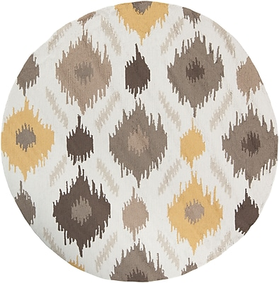 Surya Brentwood BNT7676-6RD Hand Hooked Rug, 6' Round
