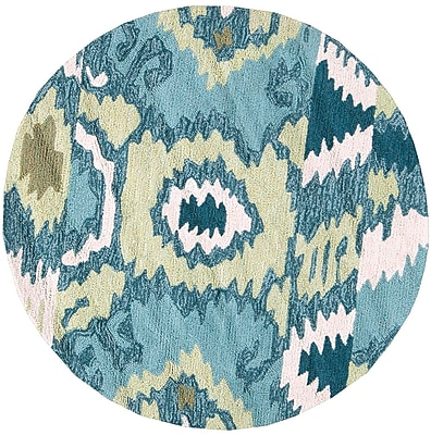 Surya Brentwood BNT7678-3RD Hand Hooked Rug, 3' Round