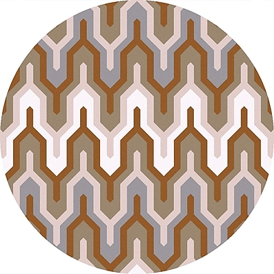 Surya Brentwood BNT7702-4RD Hand Hooked Rug, 4' Round
