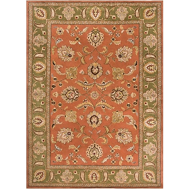 Surya Crowne CRN6019-811 Hand Tufted Rug, 8' x 11' Rectangle