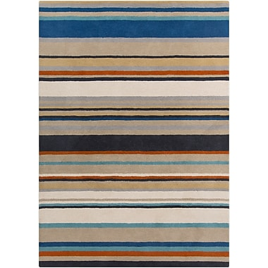 Surya Harlequin HQL8026-58 Hand Tufted Rug, 5' x 8' Rectangle