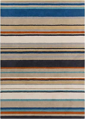 Surya Harlequin HQL8026-810 Hand Tufted Rug, 8' x 10' Rectangle