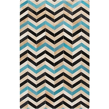 Surya Houseman HSM4023-23 Hand Crafted Rug, 2' x 3' Rectangle