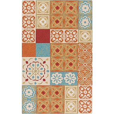 Surya Papilio Namada NAM8003-58 Hand Hooked Rug, 5' x 8' Rectangle