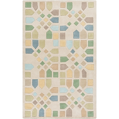 Surya Mike Farrell Peerpressure PSR7002-58 Hand Tufted Rug, 5' x 8' Rectangle