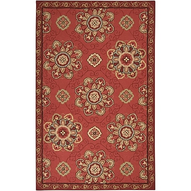 Surya Rain RAI1071-58 Hand Hooked Rug, 5' x 8' Rectangle