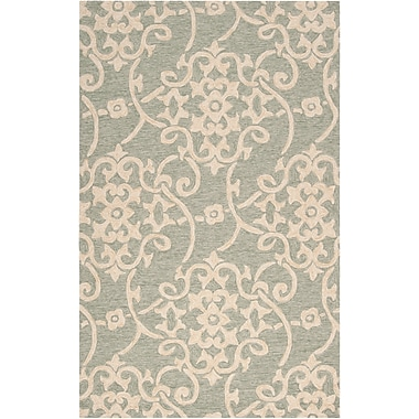 Surya Rain RAI1103-810 Hand Hooked Rug, 8' x 10' Rectangle