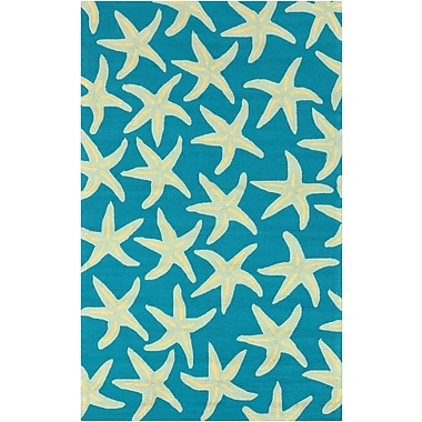 Surya Rain RAI1137-23 Hand Hooked Rug, 2' x 3' Rectangle