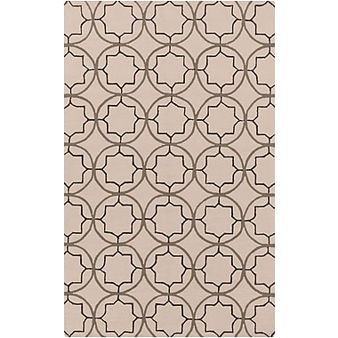 Surya Rain RAI1144-58 Hand Hooked Rug, 5' x 8' Rectangle