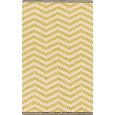 Surya Rain RAI1176-23 Hand Hooked Rug, 2' x 3' Rectangle