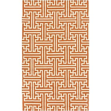 Surya Rain RAI1192-35 Hand Hooked Rug, 3' x 5' Rectangle