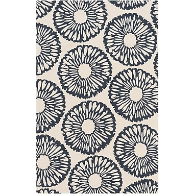 Surya Rain RAI1222-912 Hand Hooked Rug, 9' x 12' Rectangle