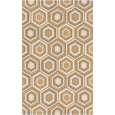 Surya Rain RAI1225-23 Hand Hooked Rug, 2' x 3' Rectangle