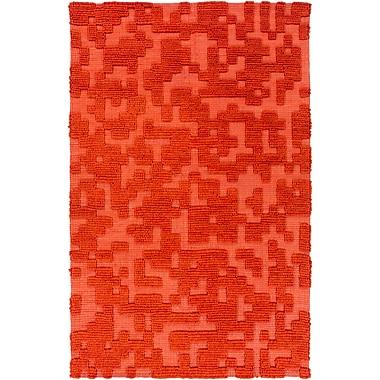 Surya Stencil STN1002-811 Hand Woven Rug, 8' x 11' Rectangle