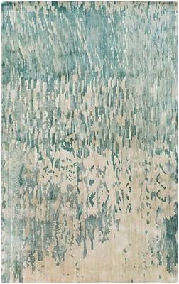 Surya Watercolor WAT5004-58 Hand Knotted Rug, 5' x 8' Rectangle