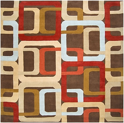 Surya Forum FM7106-6SQ Hand Tufted Rug, 6' Square