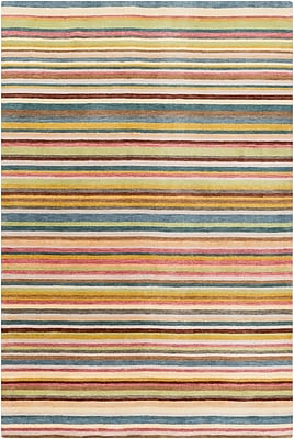 Surya Indus Valley IND116-58 Hand Loomed Rug, 5' x 8' Rectangle