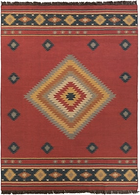 Surya Jewel Tone JT1033-811 Hand Woven Rug, 8' x 11' Rectangle