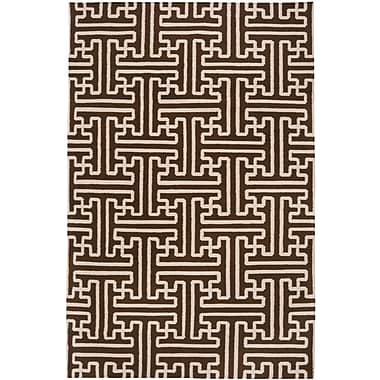 Surya Smithsonian Archive ACH1710-58 Hand Woven Rug, 5' x 8' Rectangle