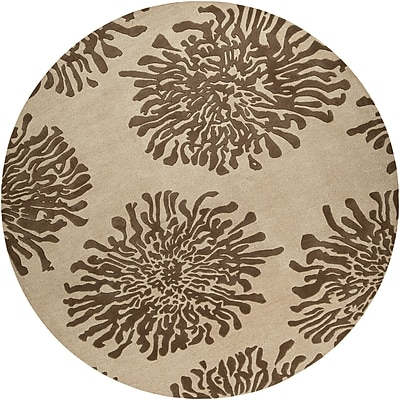 Surya Bombay BST493-8RD Hand Tufted Rug, 8' Round