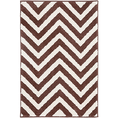 Surya Horizon HRZ1033-23 Machine Made Rug, 2' x 3' Rectangle