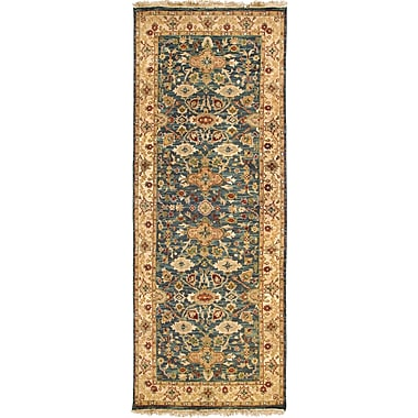 Surya Soumek SMK51-46 Hand Knotted Rug, 4' x 6' Rectangle