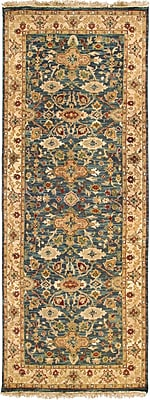 Surya Soumek SMK51-410 Hand Knotted Rug, 4' x 10' Rectangle