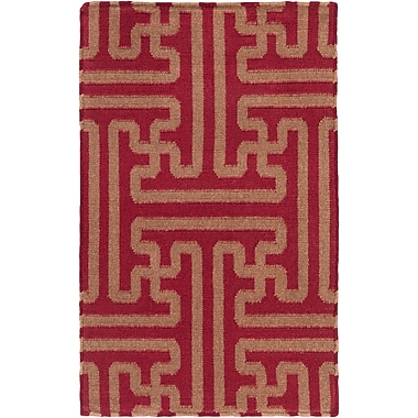 Surya Smithsonian Archive ACH1701-23 Hand Woven Rug, 2' x 3' Rectangle