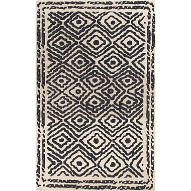 Surya Beth Lacefield Atlas ATS1001-58 Hand Knotted Rug, 5' x 8' Rectangle