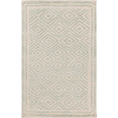 Surya Beth Lacefield Atlas ATS1007-58 Hand Knotted Rug, 5' x 8' Rectangle