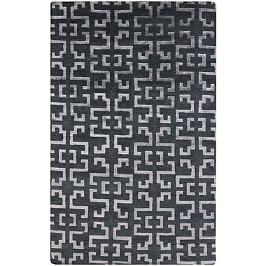 Surya Mugal IN8610-58 Hand Knotted Rug, 5' x 8' Rectangle